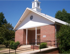 Second building for Cullen Baptist Church